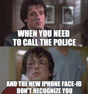 faceID joke