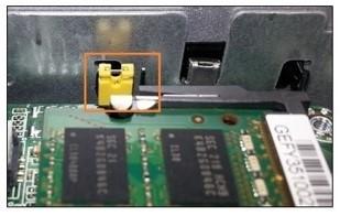 NUC BIOS security jumper